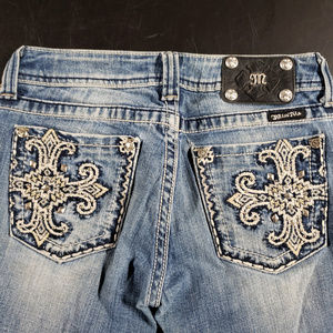 Miss me size 27 bootcut jeans